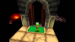 Croc Legend of the Gobbos [PSX] 100% - Level 4-6 Panic at Platform Pete