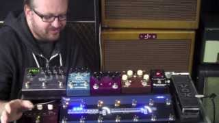 TheGigRig G2 Demo - The worlds most advanced effects pedal board switching system