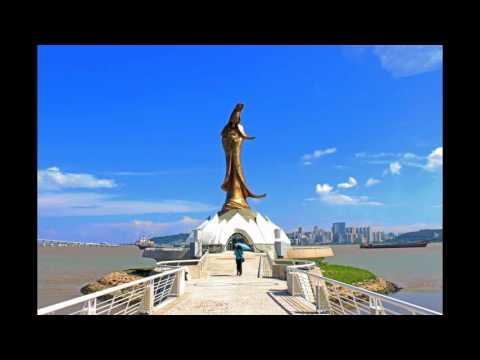 2016 Travelling To Macau Kun Iam Statue