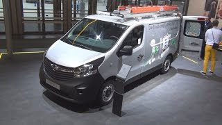 Opel Vivaro Panel Van L1H1 1.6 CDTI ecoFlex Exterior and Interior