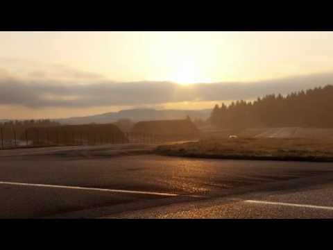 Fahrzeuge Astra Astra OPC TV Footage 05 2012 LowRes Astra OPC Fahraufnahmen Sonnenuntergang Pferdsfeld