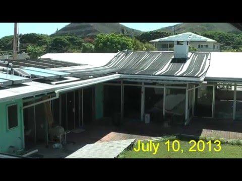 Old house demolition 2013