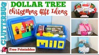 DIY Dollar Tree Christmas Gift Ideas
