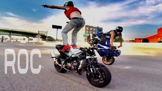 AMAZING Motorcycle STUNTS Streetfighterz RIDE OF THE CENTURY ROC Extreme Freestyle Stunt Bike TRICKS