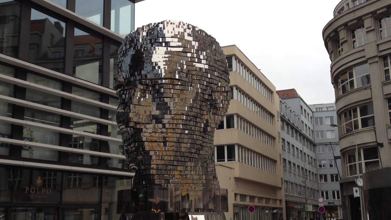 David Cerny Metalmorphosis Mirror Prague Youtube