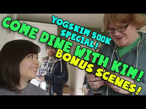 Yogskim 500k Subscriber Special! Come Dine With Kim Bonus Scenes! video
