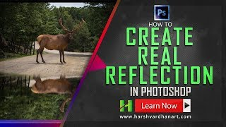 How to Create Real Reflection in Photoshop- Photoshop Tutorial for Beginners