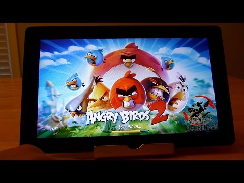 Tablet Express' Octacore X10 tablet playing games