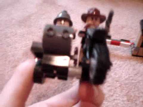 Lego Indiana Jones Motorcycle Chase Review