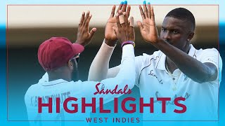 Extended Highlights - West Indies vs Sri Lanka | Holder Bags 5-fer! | Sandals 1st Test Day 1