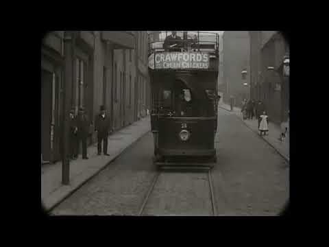 Видеорегистраторы на трамваях? 1900 г. Шикарный фильм.