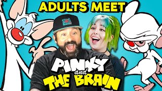 Pinky And The Brain Prank Fans With Surprise Meet & Greet | Adults React