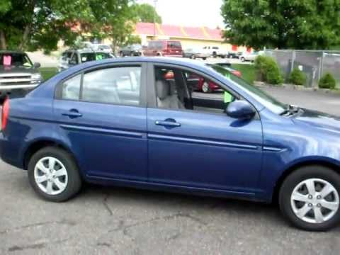 2008 Hyundai Accent Gls 4 Door Sedan 1 6 Liter 4cyl