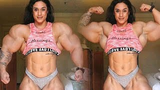 Amanda Machado IFBB Muscle Female / bodybuilder gym workout :motivation