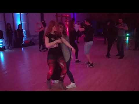 V1 UKDC DJ-KAKAH XMAS Social Dance Party ~ video by Zouk Soul