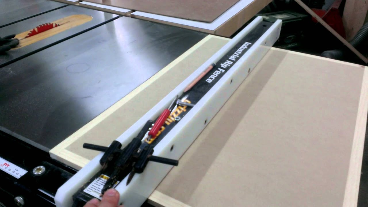 Tablesaw Router Extension Wing Part 1 Youtube