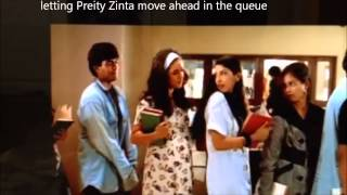 Kya Kehna Movie Shoot - SNDT College Year 1998