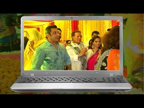 Salman Khan participates in Ganesh Aarti through Video Conferencing! | Bollywood News