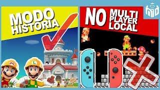 Lo PEOR y Lo MEJOR de Super Mario Maker 2 | N Deluxe