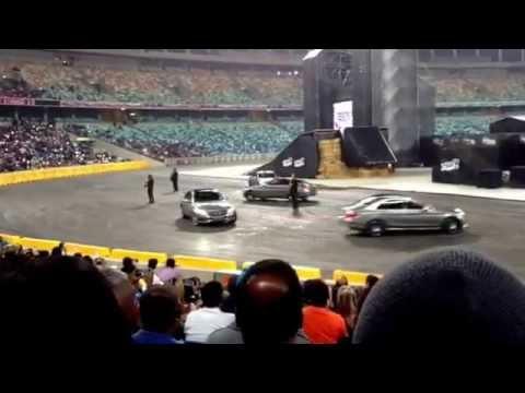 Top Gear Festival 2014 (Durban) - Mercedes C-Class Performance PART 1