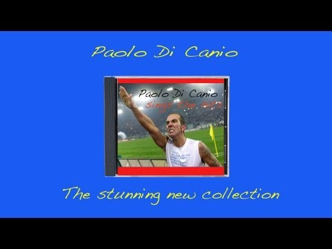 Paolo Di Canio Sings The Hits - not fascist