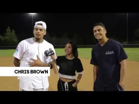 Chris Brown x Quincy: Celebrity Charity Kickball Event Recap