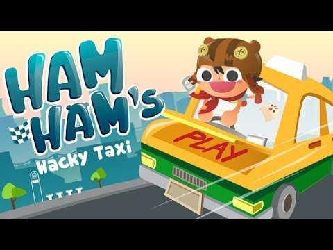 Best Kids Game Ham Ham's Wacky Taxi GamePlay
