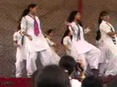 peshawar school girls dance party - YouTube.flv