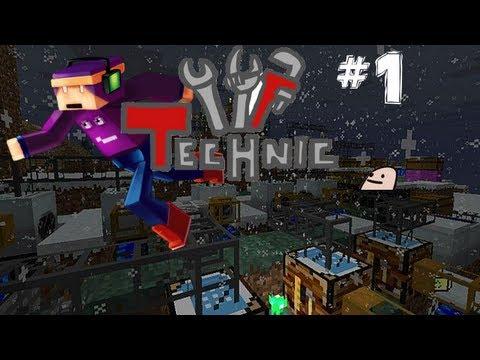 Minecraft RO IHP : TechnicPack [S.2 Ep.1] Pinkitza's Seed [HD]