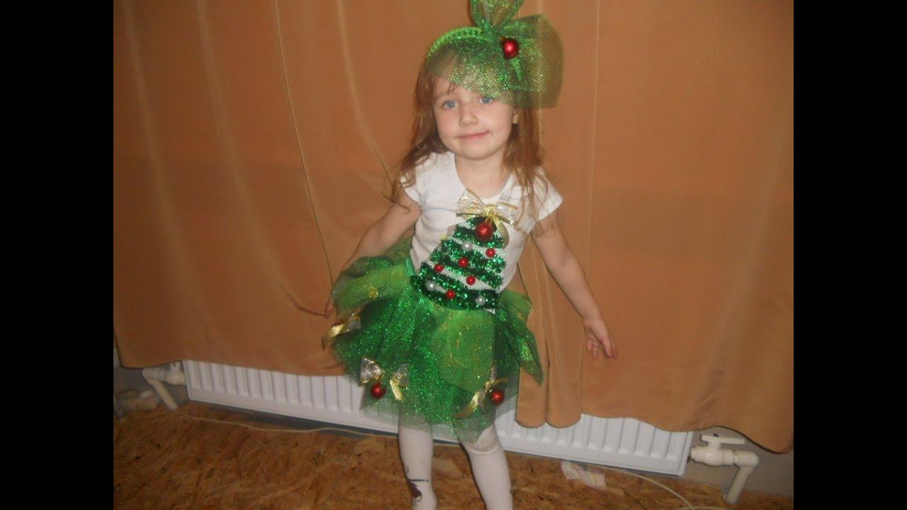 Новогодний костюм для девочек своими руками фото 420