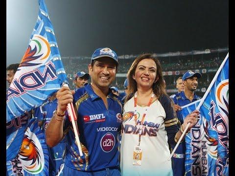 Nita Ambani & Sachin Tendulkar : The backbone of Mumbai Indians