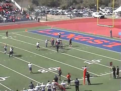 Johnathan Hulett SAGU Football 2011 Conference Highlights