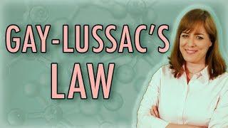 Gay lussacs law experiment