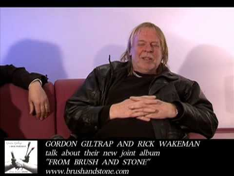RICK WAKEMAN and GORDON GILTRAP talk about their new album FROM BRUSH AND STONE (4:3 version)
