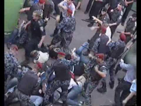 """Беспредел на матче """"Полесье"""" - """"Динамо"""""""