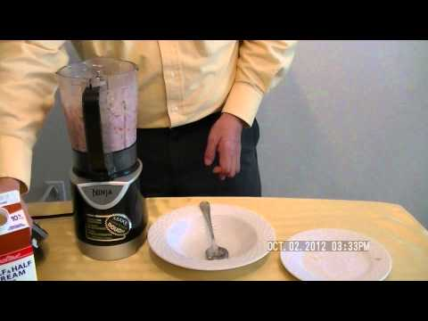 Ninja Kitchen System Pulse - Homemade Strawberry Banana Ice Cream - 自製士多啤梨香蕉雪糕