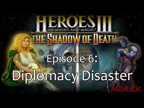 Heroes of Might and Magic III: Diplomacy 1v7 FFA (200%)