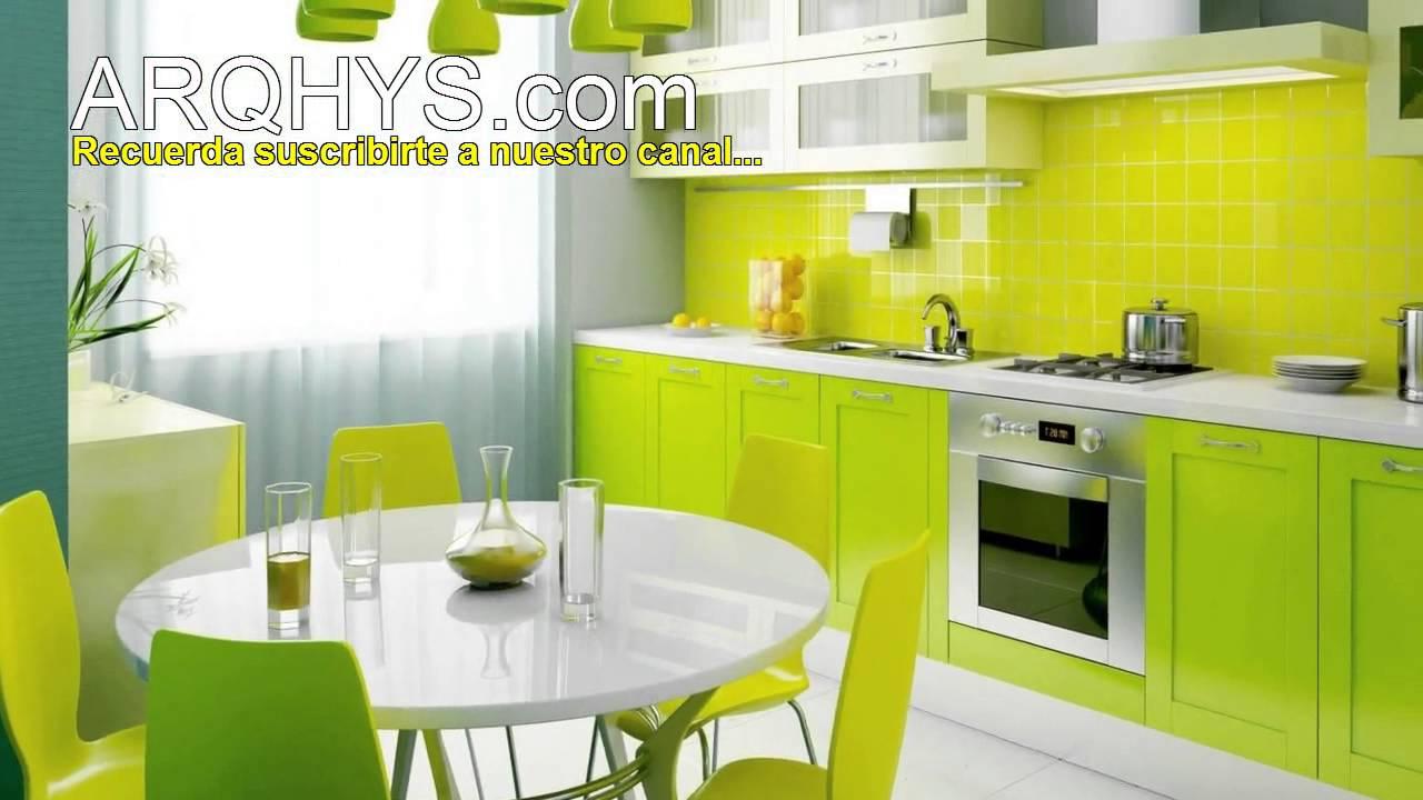 Curso de decoraci n de cocinas como decorar la cocina - Ideas para amueblar una cocina ...