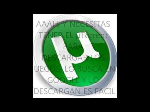 PAGINA PARA DESCARGAR JUEGOS DE PS2.PC.WII.XBOC360.MAC ECT