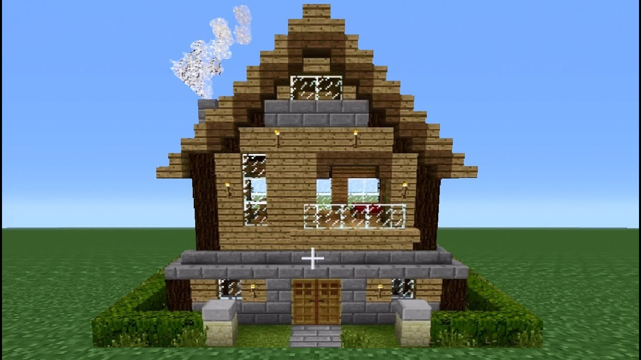 Minecraft 360 Modern Ish House Tutorial House Number