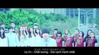 Bài hát tiếng trung hay nhất 2015 Hot C-pop-100 fen de peng you - Jimmy Lin Yu Chun ( Xiao Pang)