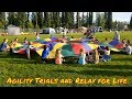 RVing to Alaska   Fairbanks AK   Dog agility trials and Relay for Life...