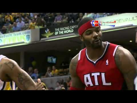 NBA CIRCLE  Atlanta Hawks Vs Indiana Pacers Highlights 1 May 2013 NBA Playoffs