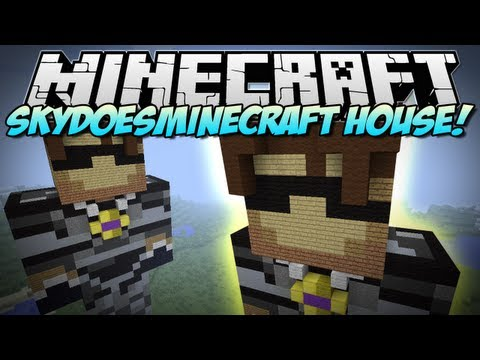 Minecraft   SKYDOESMINECRAFT HOUSE!   Build Showcase