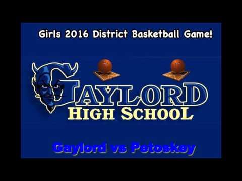 Gaylord vs Petoskey District Highlight Audio
