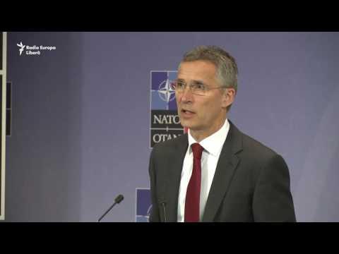 Secretarul general al NATO Jens Stoltenberg vorbind despre pregătirea summitului de la Varșovia (II)