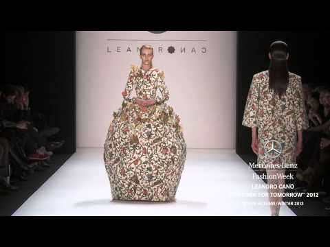 LEANDRO CANO: DESIGNER FOR TOMORROW 2012 FULL SHOW - MERCEDES-BENZ FASHION WEEK BERLIN A/W 2013