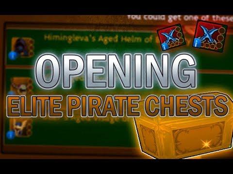 Arcane Legends | Opening Elite Golden Pirate Chests!