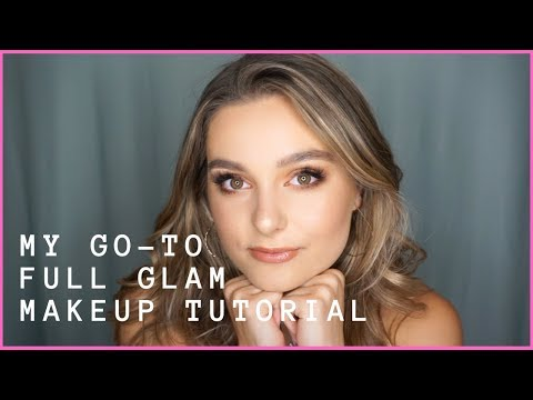 MY GO-TO FULL GLAM MAKEUP ROUTINE