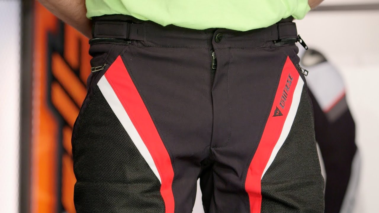Motorcycle Riding Pants >> Dainese Drake Super Air Pants Review at RevZilla.com - YouTube